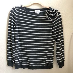 Ann Taylor Loft light knit sweater petite